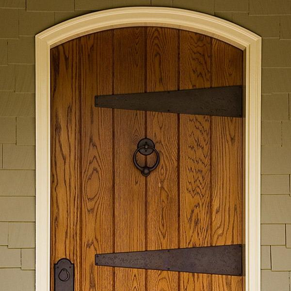 Colorworks Refinished Exterior Wooden Door