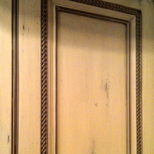 Colorworks Faux Finish Glazed Cabinet Door