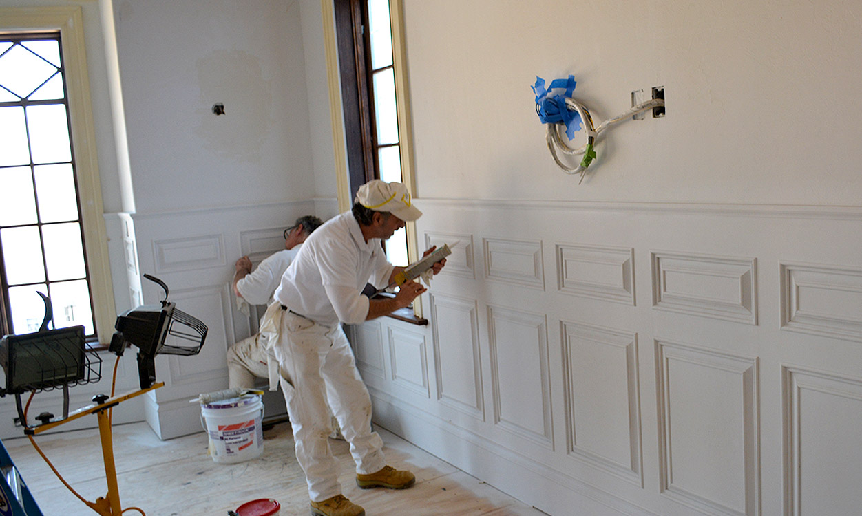 Colorworks interior painting preparation