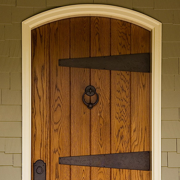 Colorworks Refinished Exterior Wooden Door